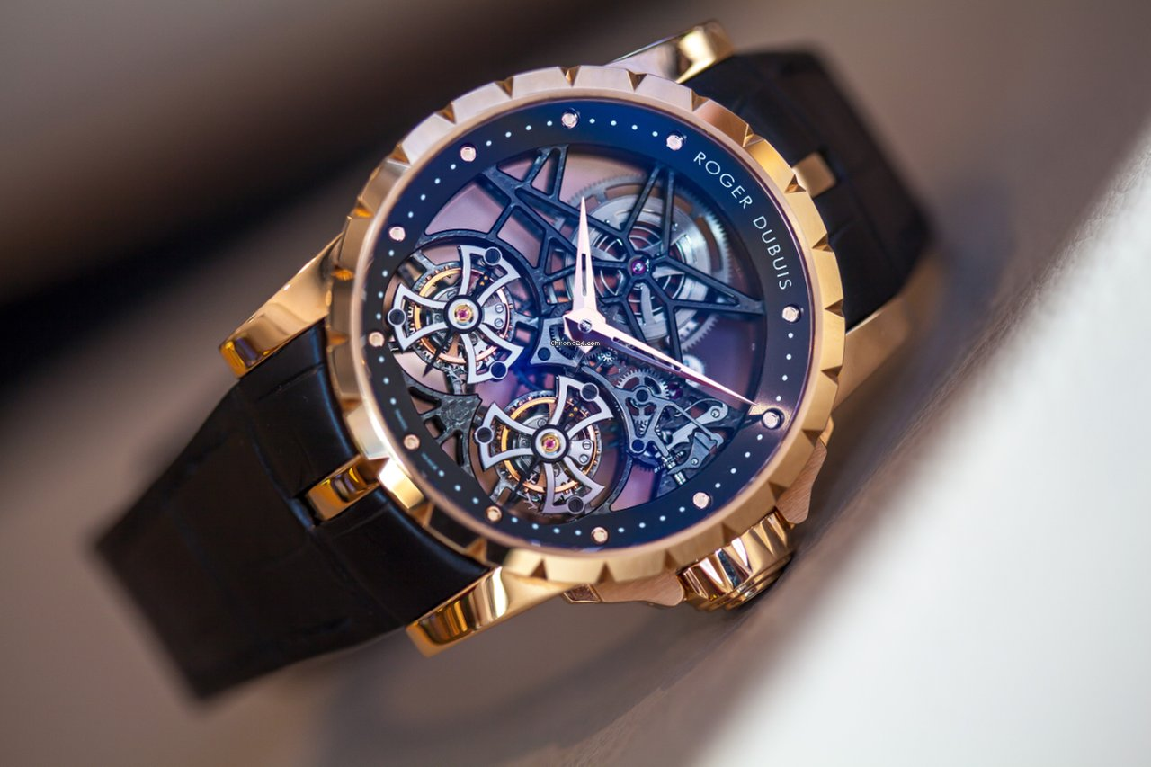 Roger Dubuis Double Tourbillon Replica Watchs