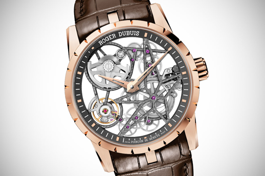 Roger Dubuis skeletonized replica