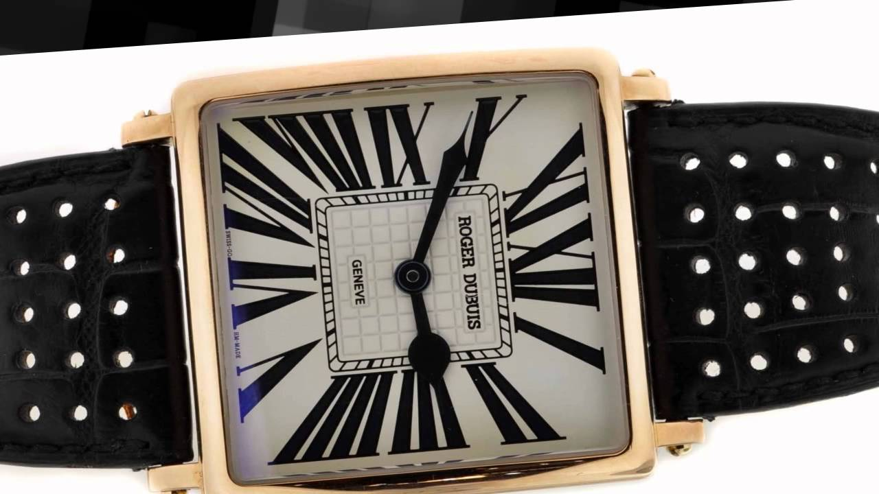 Roger Dubuis Golden Square Replica Watchs